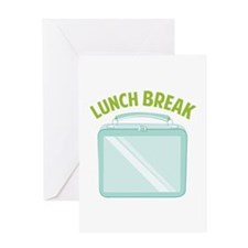 Lunch Break Greeting Cards