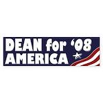 Dean for America '08 (bumper sticker)