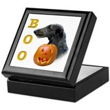 Deerhound Boo Keepsake Box