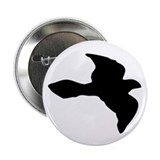 "Flying Bird Icon 2.25"" Button (100 pack)"