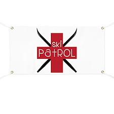 Ski Patrol Banner