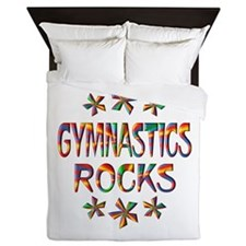 Gymnastics Rocks Queen Duvet