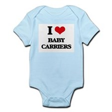 I Love Baby Carriers Body Suit