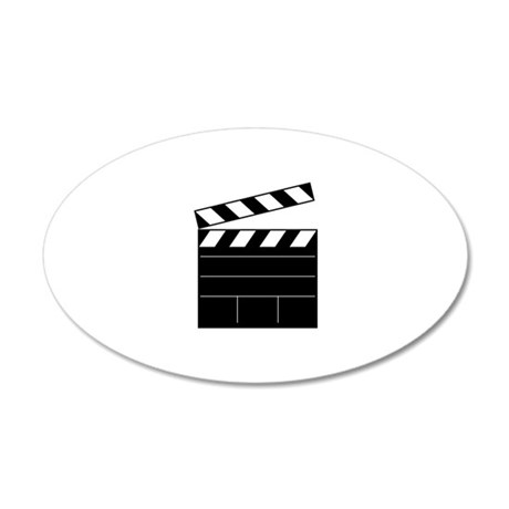 Lights Camera Action Wall Decal