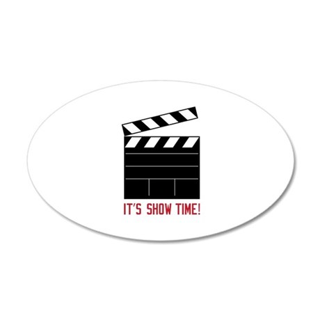 Show Time Wall Decal