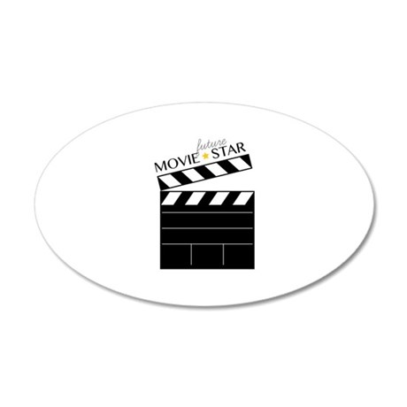 Future Movie Star Wall Decal