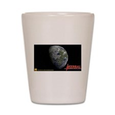 Kerbin KSP Shot Glass