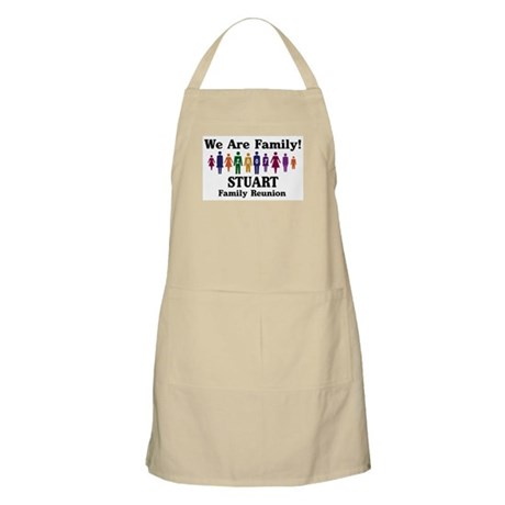 STUART reunion (we are family BBQ Apron