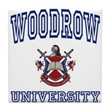 WOODROW University Tile Coaster