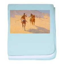 Frederick Remington, The Parley baby blanket