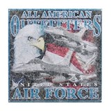 All American Outfitters: Air Force Tile Coaster