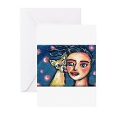 Cute Mexican art Greeting Cards (Pk of 20)