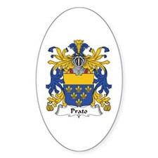 Prato Oval Decal