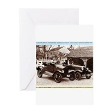 VintageAuto - Greeting Card