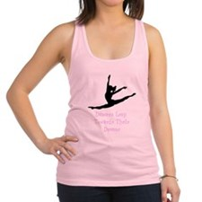 Dancers Leap Towards Their Dreams Racerback Tank T