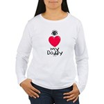 Eye Love DAD Women's Long Sleeve T-Shirt