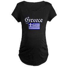 Greek distressed flag T-Shirt