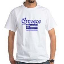 Greek distressed flag Shirt
