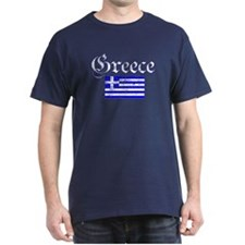 Greek distressed flag T-Shirt