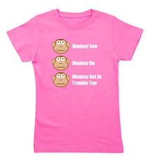 Unique Monkey do Girl's Tee