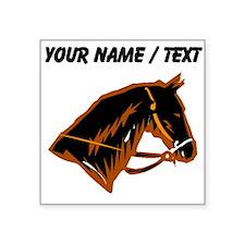 Custom Horse Head Sticker