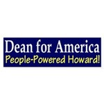 Dean for America (bumper sticker)