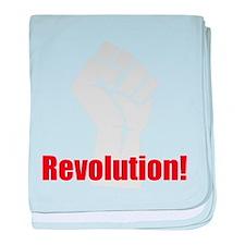 Revolution! baby blanket