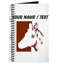 Custom Horse Cut Out Journal