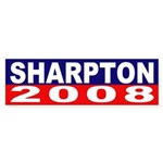 Sharpton 2008 (bumper sticker)