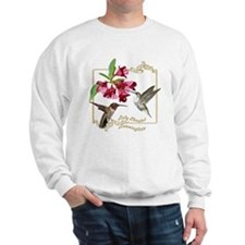 Hummingbird Pair Sweatshirt