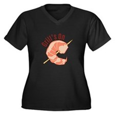 Grills On Plus Size T-Shirt
