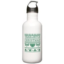 Yeah Bitch Christmas 2 Sports Water Bottle