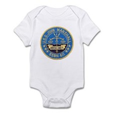 USS JOHN MARSHALL Infant Creeper