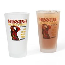 Missing Air Crew Project Drinking Glass