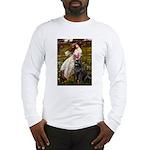 Windflowers / Newfoundland Long Sleeve T-Shirt