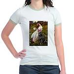 Windflowers / Newfoundland Jr. Ringer T-Shirt