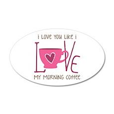 Morning Coffee Wall Decal