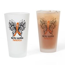 Multiple Sclerosis Awareness Drinking Glass