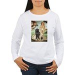 Venus & Newfoundland Women's Long Sleeve T-Shirt