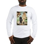 Venus & Newfoundland Long Sleeve T-Shirt