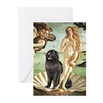 Venus & Newfoundland Greeting Cards (Pk of 10)