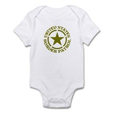 border patrol,border patrol h Infant Bodysuit