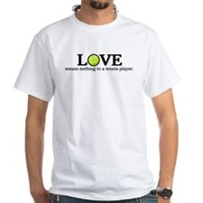 Love means nothing Shirt