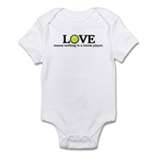 Love means nothing Infant Bodysuit