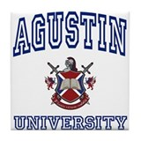 AGUSTIN University Tile Coaster