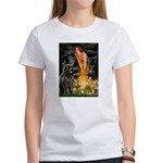 Fairies & Newfoundland Women's T-Shirt