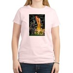 Fairies & Newfoundland Women's Light T-Shirt