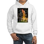 Fairies & Newfoundland Hooded Sweatshirt