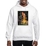 Fairies & Newfoundland Hooded Sweatshirt