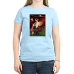 Angel & Newfoundland Women's Light T-Shirt